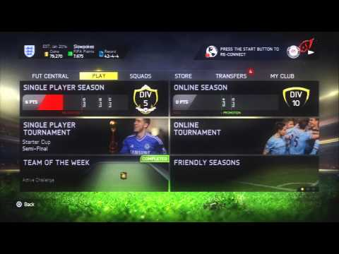 FIFA 15 DASHBOARD OVERVIEW !!!!! HD