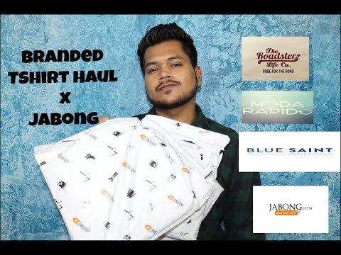 Branded Tshirt in cheap price  haul x Jabong Hindi