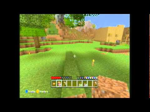 Lets Play MineCraft xbox 360 edition: Episode 10 - First live lobby set time and date