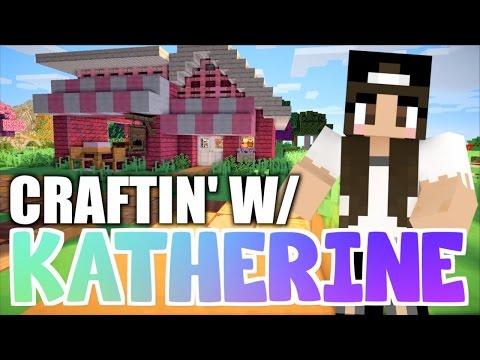 Minecraft BAKERY! Craftin' w/ Katherine Ep. 4