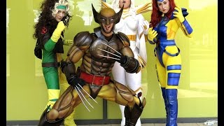 Classic Wolverine and The X-Men! Awesome Cosplay/Costume