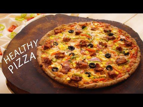 Multigrain Pizza Recipe - Healthy Atta Pizza Dough, Sauce - CookingShooking