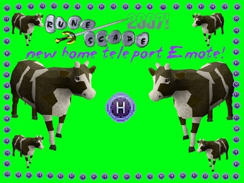 Runescape - New Cow Home Teleport Emote For Osrs -Runefest code-