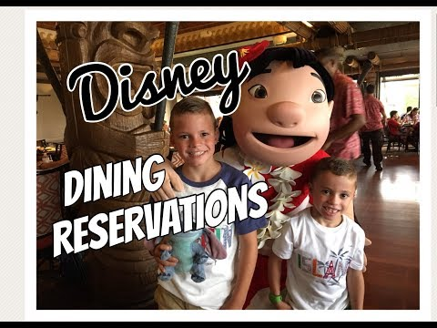 Getting Last Minute Disney Dining Reservations| Disney Restaurants| Reservations Disney Dining