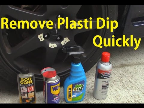 Plasti Dip Removal Comparison - Which is best?