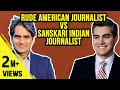 Download  Rude American Vs Sanskari Indian Journalists! -  Ep54 #TheDeshBhakt MP3,3GP,MP4
