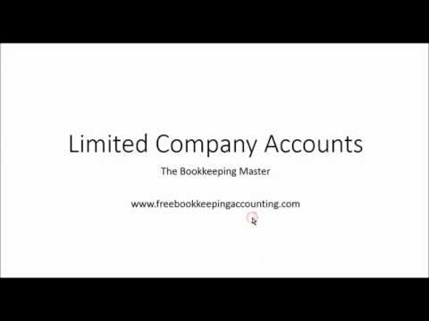 Limited Company Accounts   Preparing and Understanding - Ltd Accounts