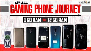 My All Gaming Phone Journey😍🔥Giveaway !!