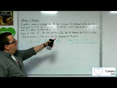 A-Level Maths 2017 Q4-04 [Calculus in Kinematics: Example 3]
