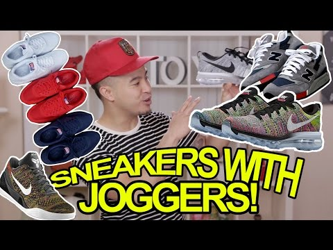 TOP 5 SNEAKERS TO WEAR WITH JOGGERS