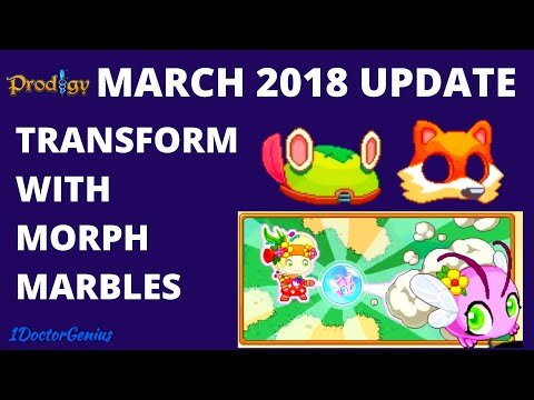 New Prodigy update : Easter is coming soon : Transform with Morph Marbles : Tips  by 1DoctorGenius