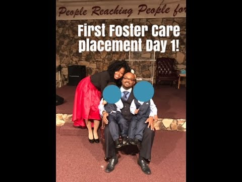 First foster care placement Day 1