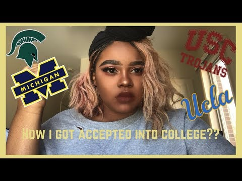 HOW I GOT ACCEPTED INTO COLLEGE?! + Senior Year Confessions and Tips