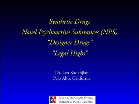 Addressing Synthetic & Designer Drugs in Adult Drug Treatment Courts
