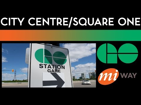 Mississauga Transitway - City Centre Terminal Walkthrough