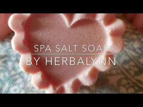 How to make cold process salt soap