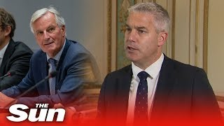 Download Stephen Barclay says EU knows a deal is 'doable' after he meets Brexit negotiator Michel Barnier Video