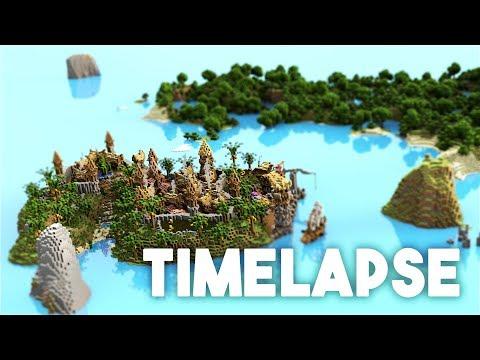 [Minecraft Timelapse] Medieval Island City - by Varuna