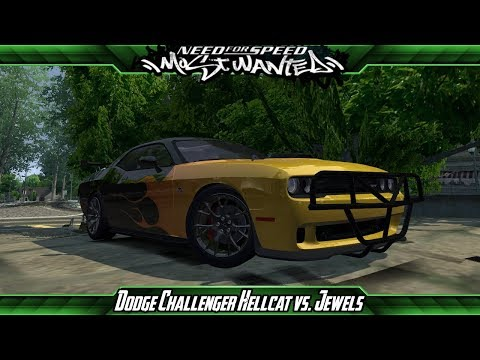 Need for Speed: Most Wanted Mods - Dodge Challenger Hellcat vs. Jewels