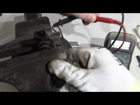 How to test engine KNOCK sensor defect code P0325. Years 2000 to 2018
