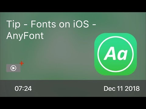 SCOM0794 - Tip - Fonts on iOS - AnyFont
