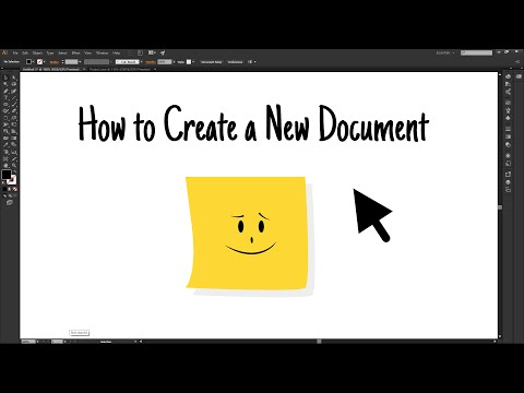 Adobe Illustrator CC - How to Set Up a New Document │Ep. 2