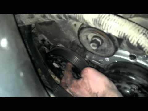 how to - 3800 series 3 water pump - power steering