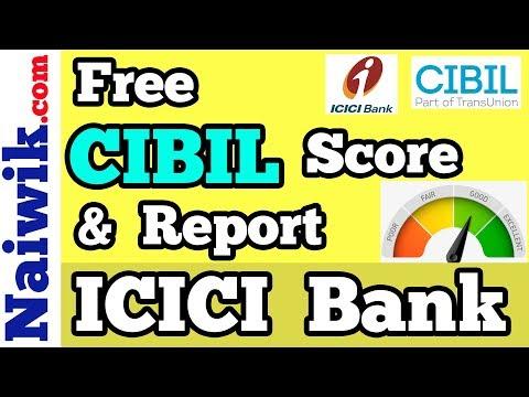 Free CIBIL TransUnion Score and Report || ICICI Bank Net-Banking users