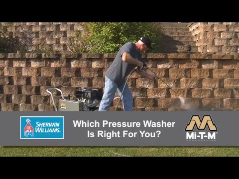 How to Choose a Pressure Washer to Buy