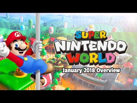 Discussion - Super Nintendo World @ Universal Parks Overview / Updates / Predictions