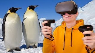 Explore the World in Virtual Reality with National Geographic (Oculus Quest Gameplay)