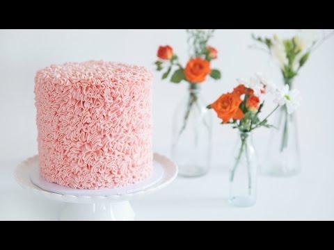 How To Make An EASY RUFFLE CAKE! - CAKE STYLE