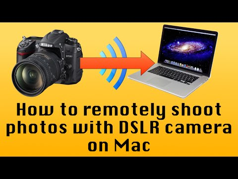 How to Remote Shoot with a DSLR camera on Mac | Full HD