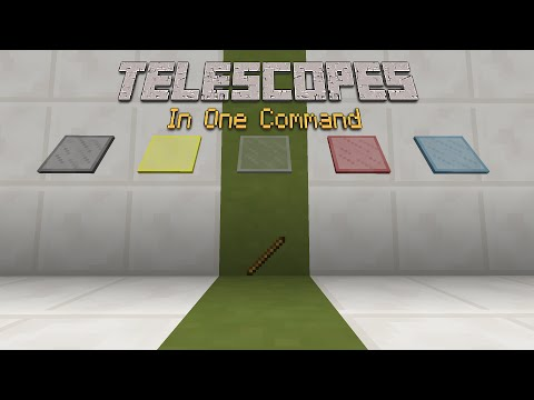 Minecraft - Telescopes [One Command]