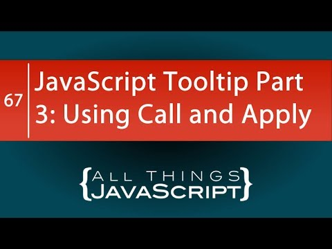 Creating a JavaScript Tooltip Part 3: Callback Issues