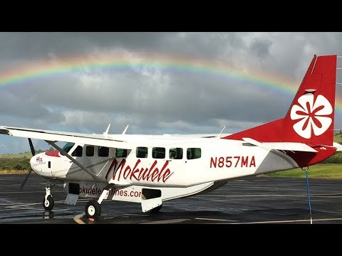 Flying Mokulele Airlines From Maui to the Big Island