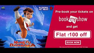 Chhota Bheem Kung Fu Dhamaka Trailer 3 | Pre-book Tickets on Book My Show