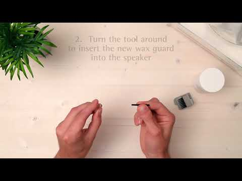 How to clean a custom hearing aid
