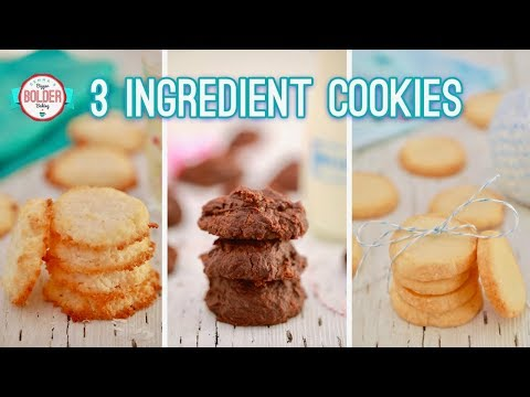 Three NEW 3-Ingredient Cookies | Gemma's Bigger Bolder Baking