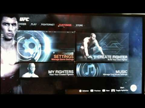 EA Sports UFC - New Game modes, Menu pictures, Fighter Stats and more!! Thanks SlickRick!