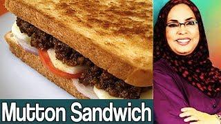 Daawat e Rahat | Roasted Mutton Sandwiches | 18 September 2017