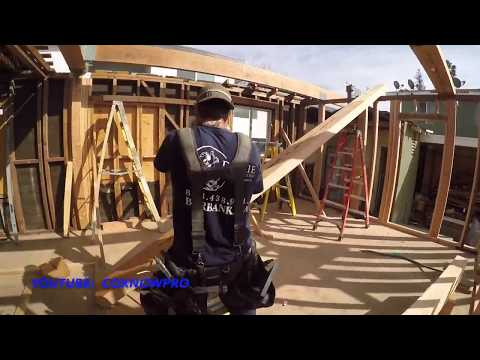 Installing LVL Beam with Material Lift / Home Remodel by CoKnowPro (YouTube)