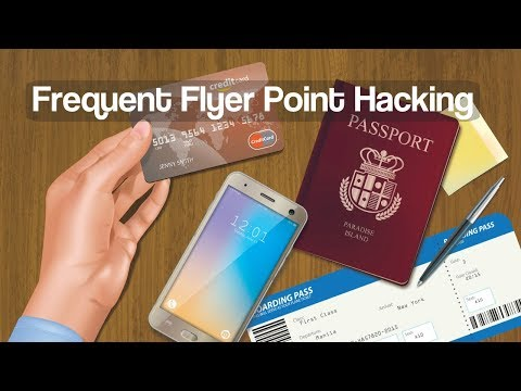 How to hack frequent flyer rewards points and flights