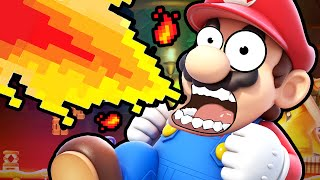 Super Mario Maker | THE IMPOSSIBLE RUN!!