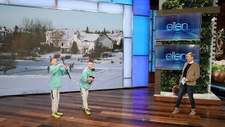 Ellen Discovers Some Insane Hidden Talent in Her Audience