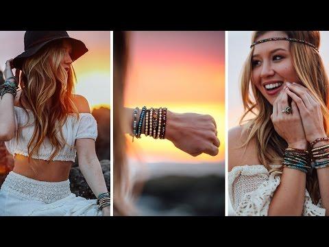 3 ways to wear a Triple Wrap Bracelet