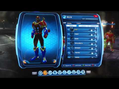 DCUO Dresden 7 Collection