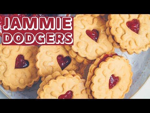 Homemade Jammie Dodger (Vegan & Gluten-free)