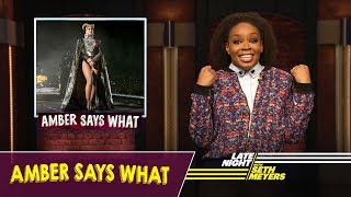 Amber Says What: The Royal Baby, Beychella