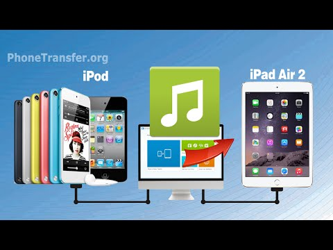 How to Transfer Music from iPod to iPad Air 2, Sync iPod Touch Music with iPad Air 2